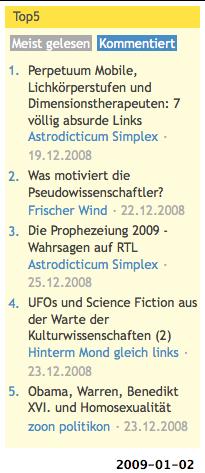 pseudoscienceblogs.de -- Kommentare