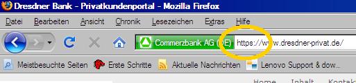 Dresdner Commerzbank Privat oder so