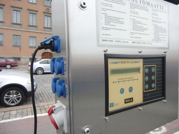 Stromautomat in Helsinki