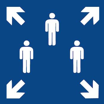 Modifziertes Sammelplatz-Zeichen